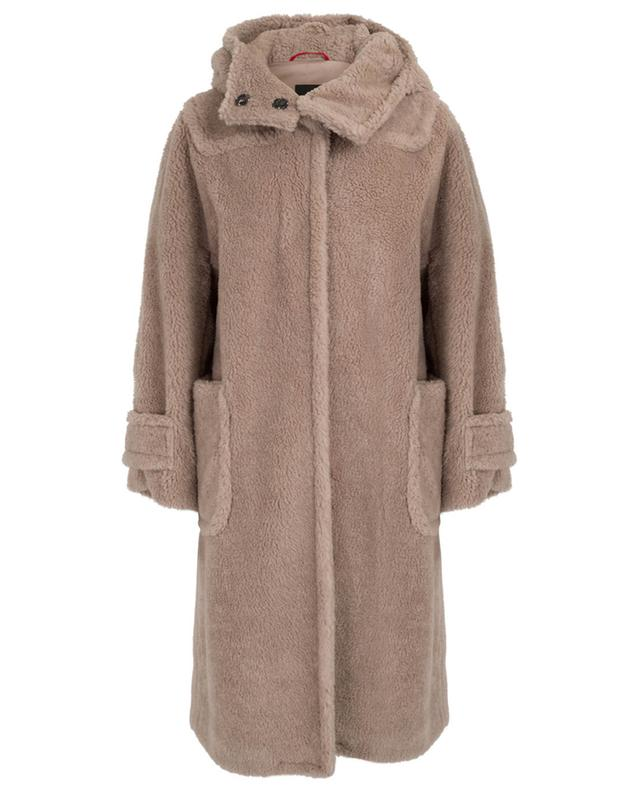 Fashoin loose fur effect coat WEEKEND MAXMARA