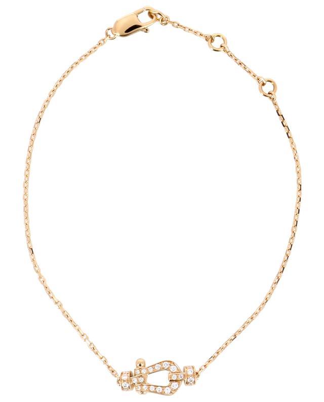 Armband aus Roségold und Diamanten Force 10 Small FRED PARIS