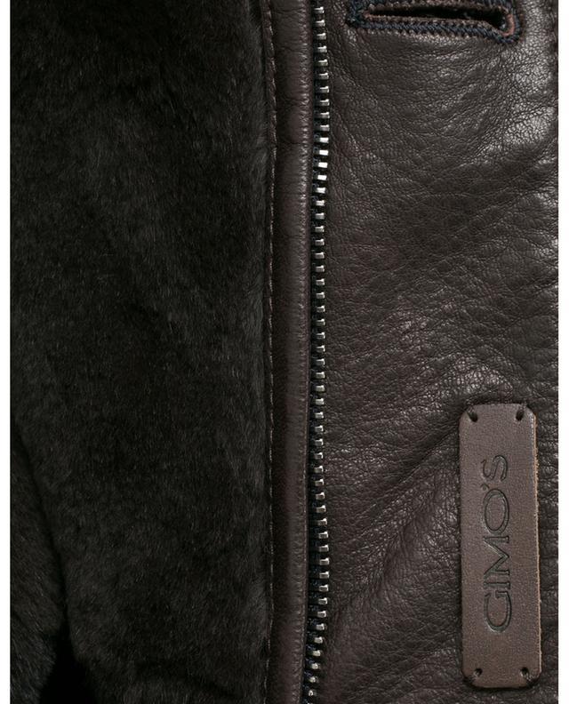 Mantel aus Schurwolle und Kaschmir GIMO'S