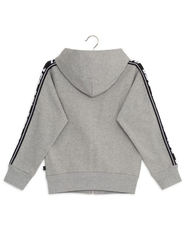 Sweat-shirt zippé à capuche détail mailles Suitax DIESEL