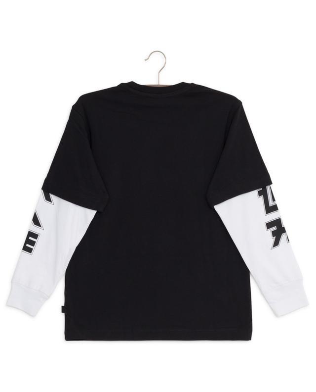 Sound long-sleeved printed T-shirt DIESEL