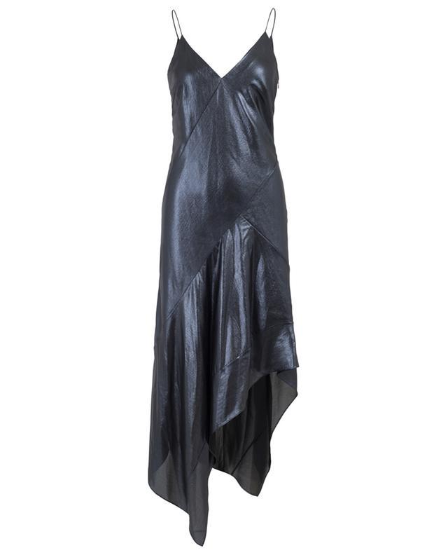 Lamé asymmetrical dress BARBARA BUI