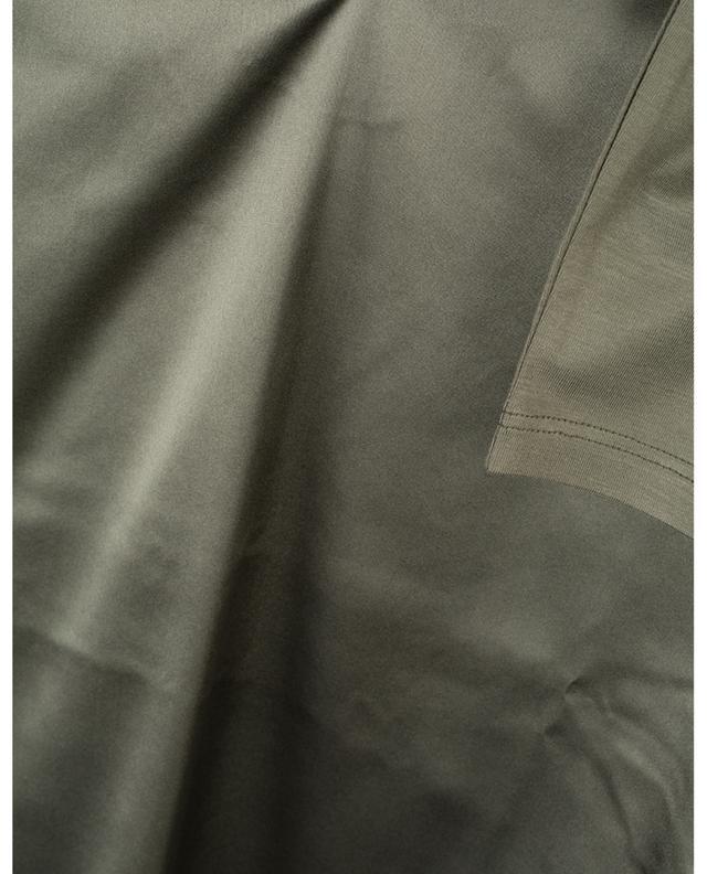 T-shirt à manches longues bi-matière FRATELLI M