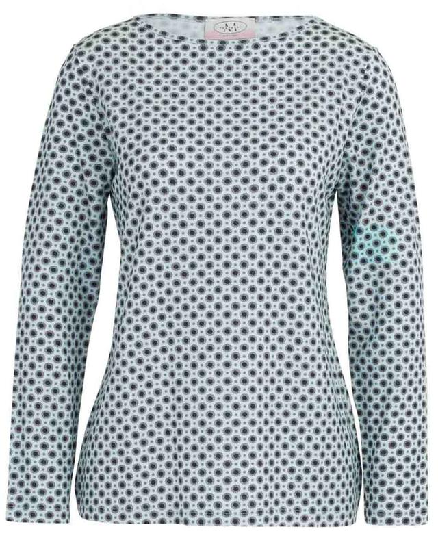 Floral pattern long-sleeved top FRATELLI M