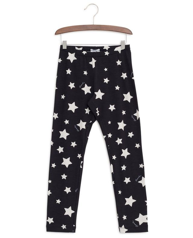 Stars print cotton leggings MONNALISA