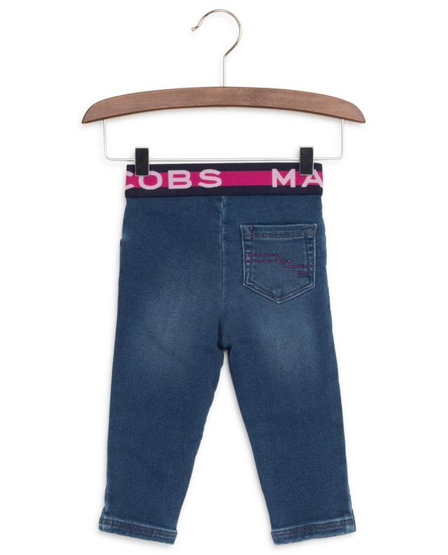 Jean avec taille élastiquée imprimée logo LITTLE MARC JACOBS