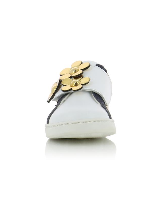 Glitter leather sneakers LITTLE MARC JACOBS
