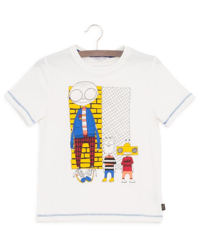T-shirt en coton imprimé LITTLE MARC JACOBS