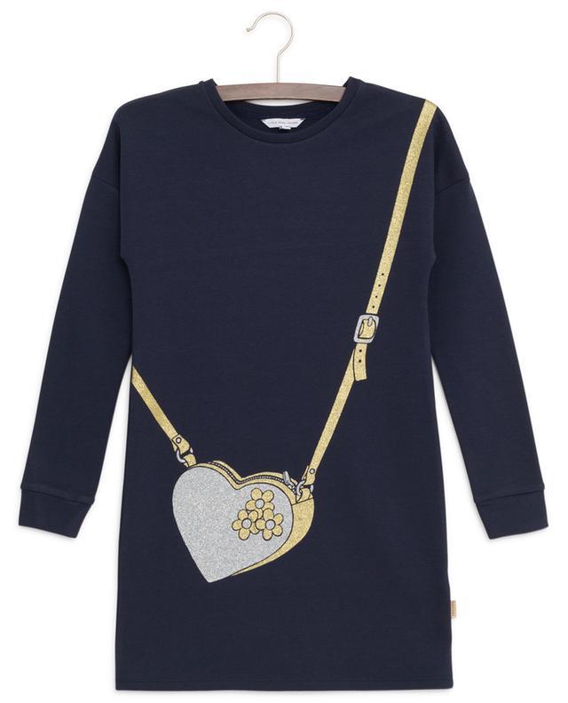 Robe sweat imprimée paillettes Heart Handbag LITTLE MARC JACOBS