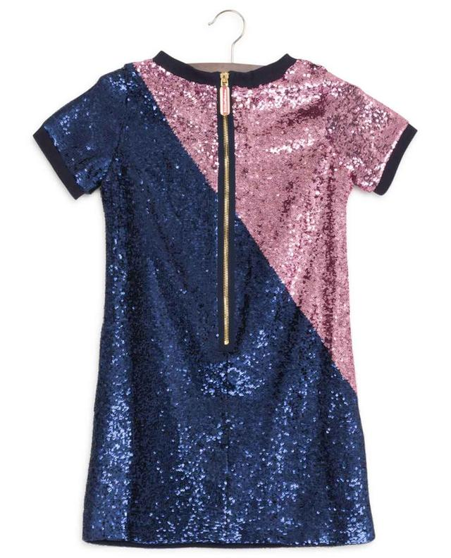 Robe manches courtes à paillettes LITTLE MARC JACOBS