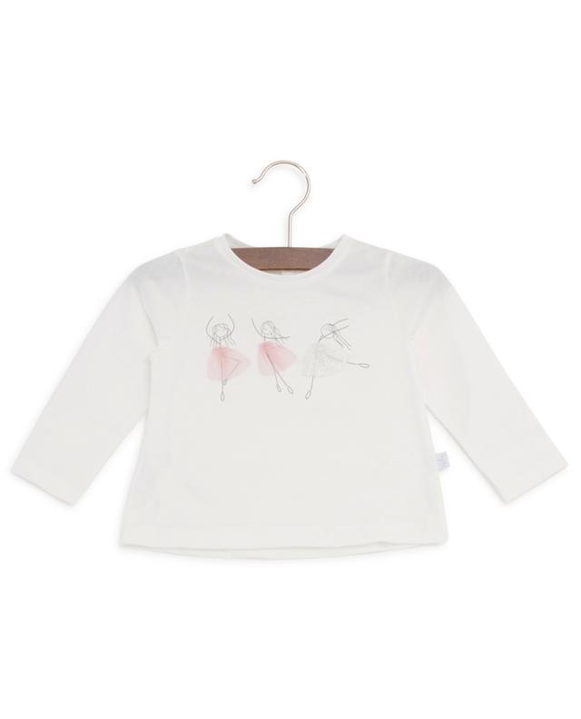 Langarm-T-Shirt mit Tänzerinnen-Motiv IL GUFO
