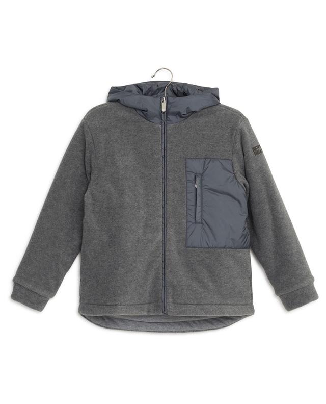 Fleece bomber jacket IL GUFO