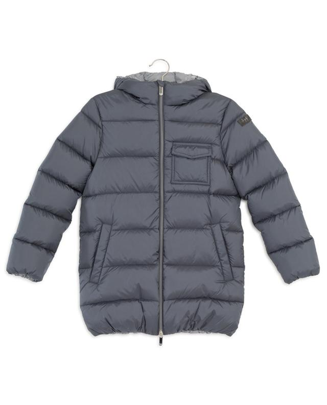 Quilted down jacket with hood IL GUFO