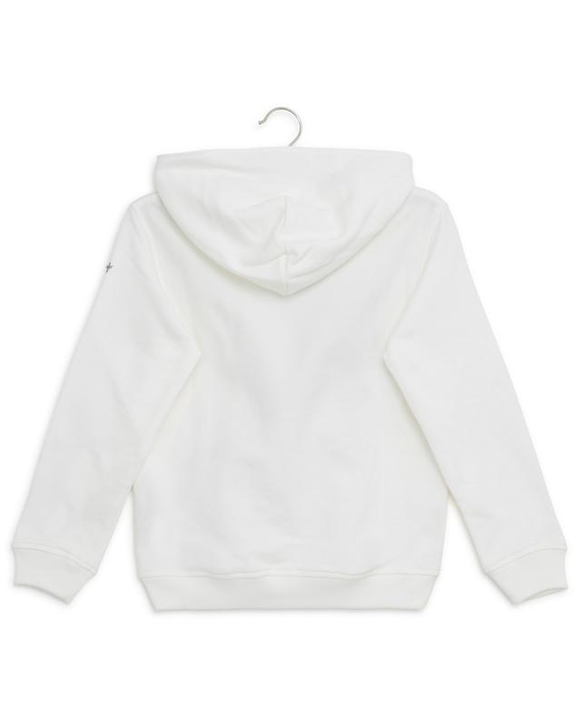 Cotton hoodie with embroideries IL GUFO