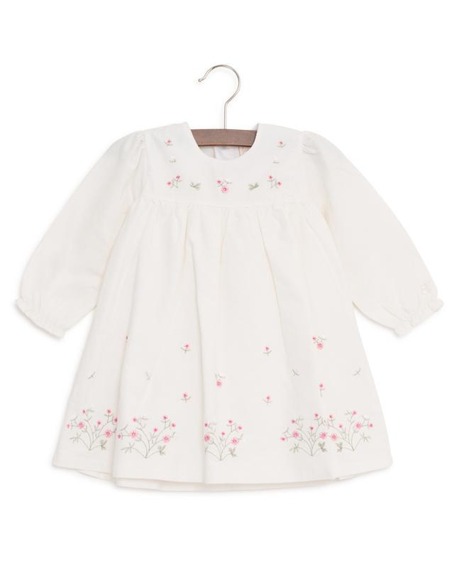 Embroidered corduroy dress EMILE ET ROSE
