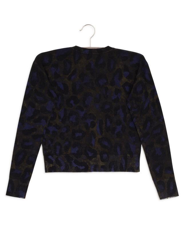 Leopard print wool cardigan ZADIG & VOLTAIRE