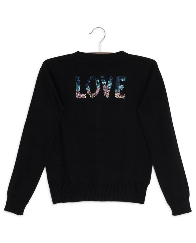 Ninon Love button-down cardigan with crystals ZADIG & VOLTAIRE