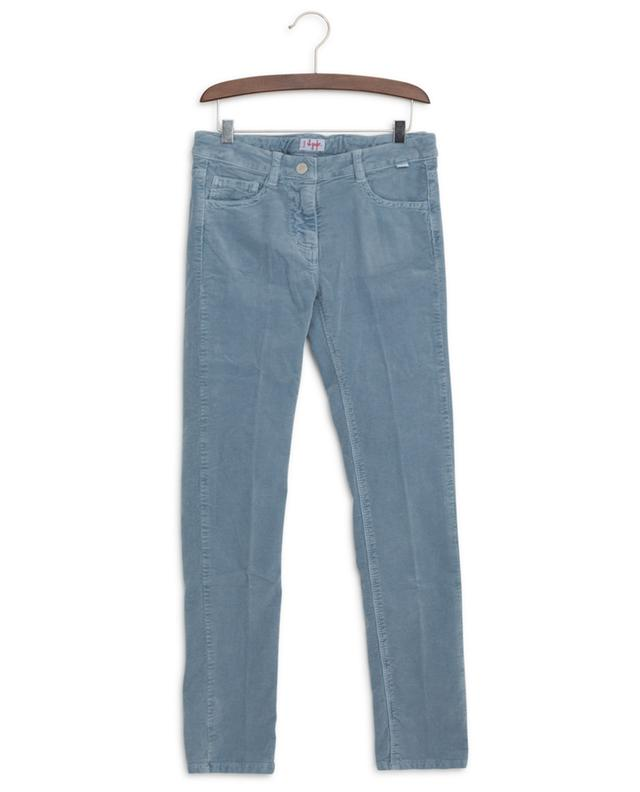 Corduroy trousers with adjustable waistband IL GUFO
