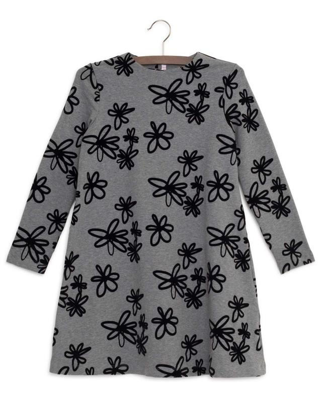 Floral A-line sweat dress IL GUFO