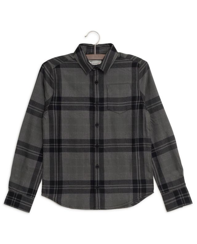 Chemise à carreaux en flanelle imprimé logo Oyo ZADIG & VOLTAIRE