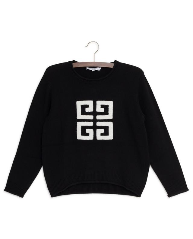 4G logo embroidered jumper GIVENCHY