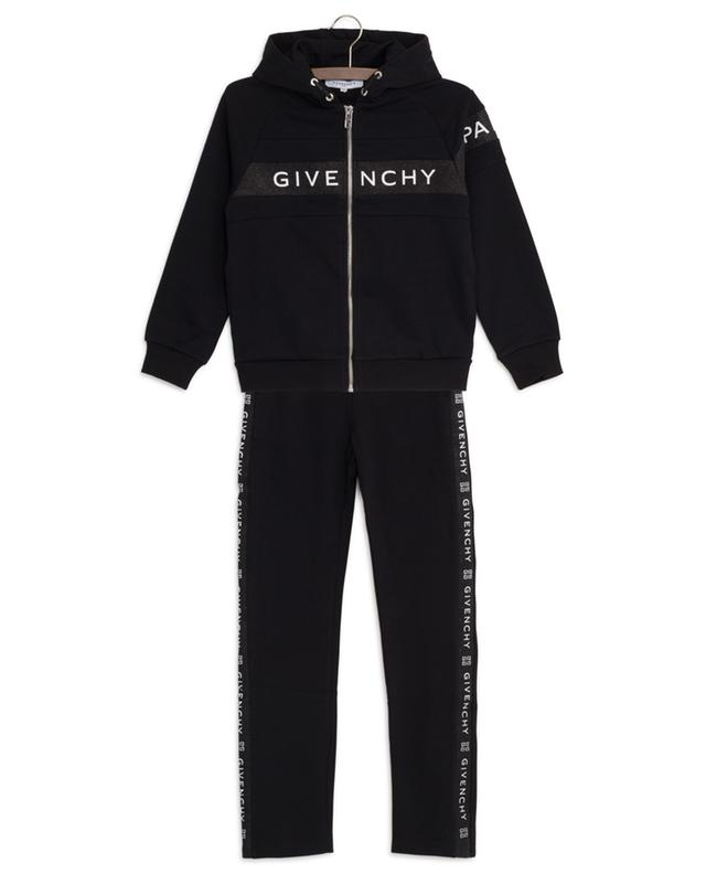 Glitter logo print track suit GIVENCHY