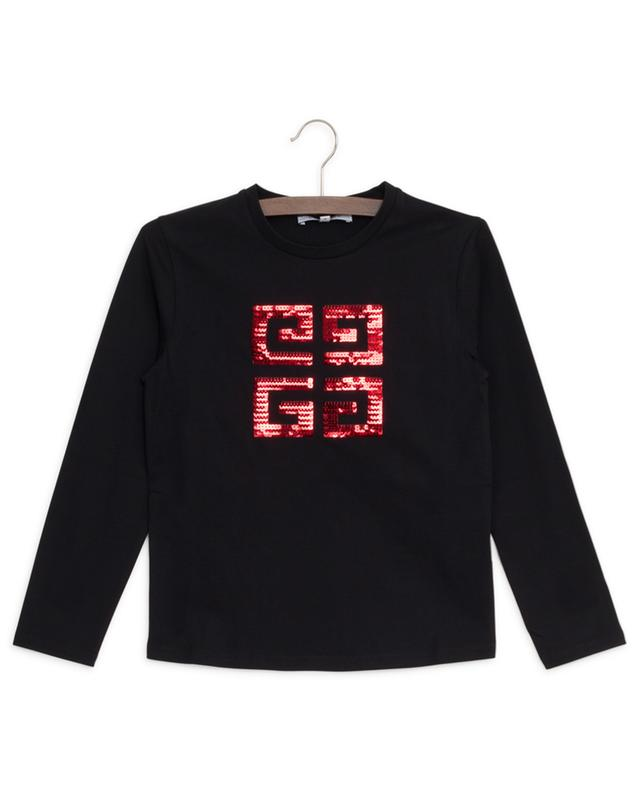 4G sequined long-sleeved T-shirt GIVENCHY