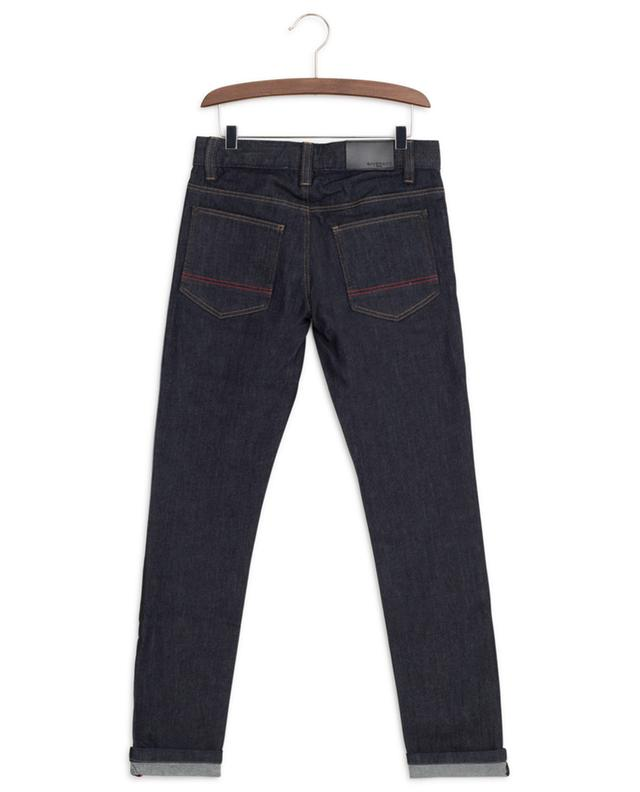 4G logo band dark washed slim fit jeans GIVENCHY