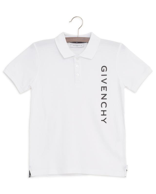 Polo à manches courtes imprimé Logo GIVENCHY