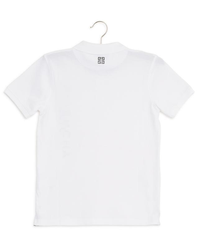 Logo print short sleeved polo shirt GIVENCHY