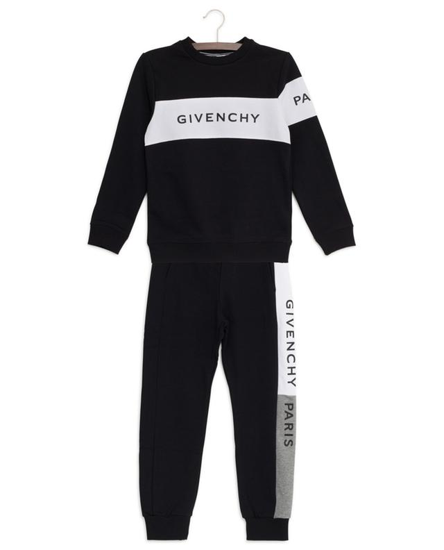 Colorblock logo printed track suit GIVENCHY