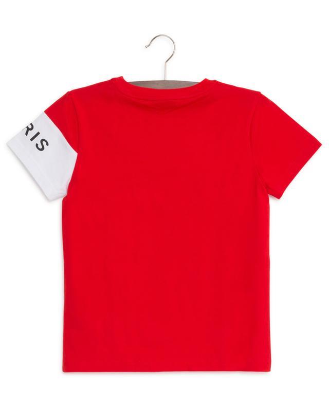Logo Colorblock short sleeved T-shirt GIVENCHY