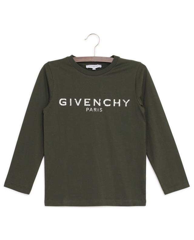 Vintage Logo long-sleeved T-shirt GIVENCHY