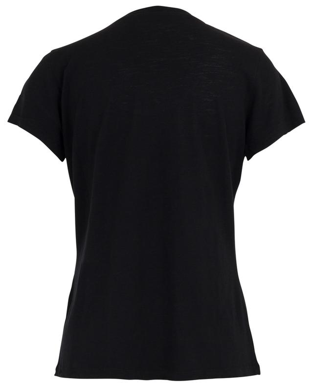T-Shirt mit U-Ausschnitt Jacksonville AMERICAN VINTAGE