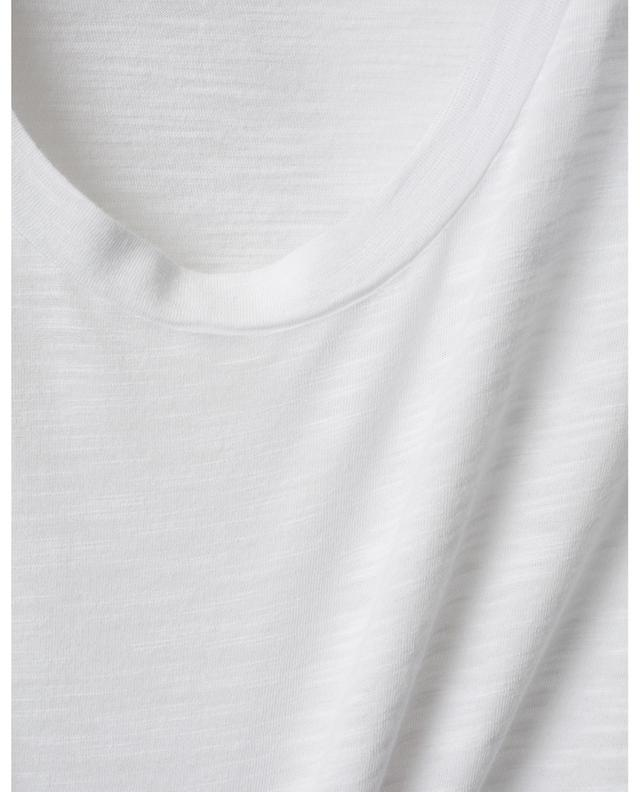 Langarm-T-Shirt mit U-Ausschnitt Jacksonville AMERICAN VINTAGE