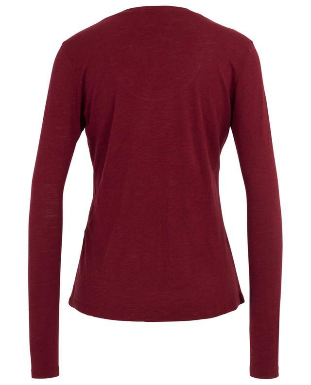Jacksonville long-sleeved U-neck T-shirt AMERICAN VINTAGE