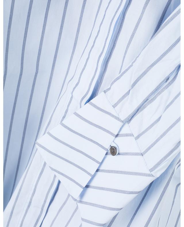 Chemise rayée décontractée en popeline de coton Hida HANA SAN