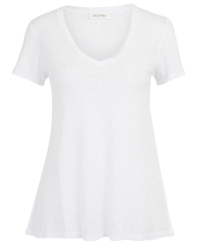Kobibay vintage spirit V-neck T-shirt AMERICAN VINTAGE