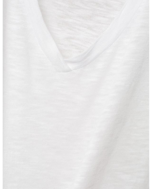T-shirt esprit vintage à col V Kobibay AMERICAN VINTAGE