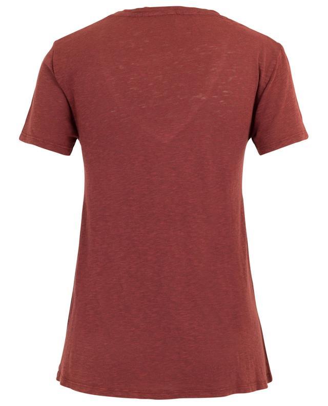 T-shirt mit V-Kragen im Vintage-Look Kobibay AMERICAN VINTAGE