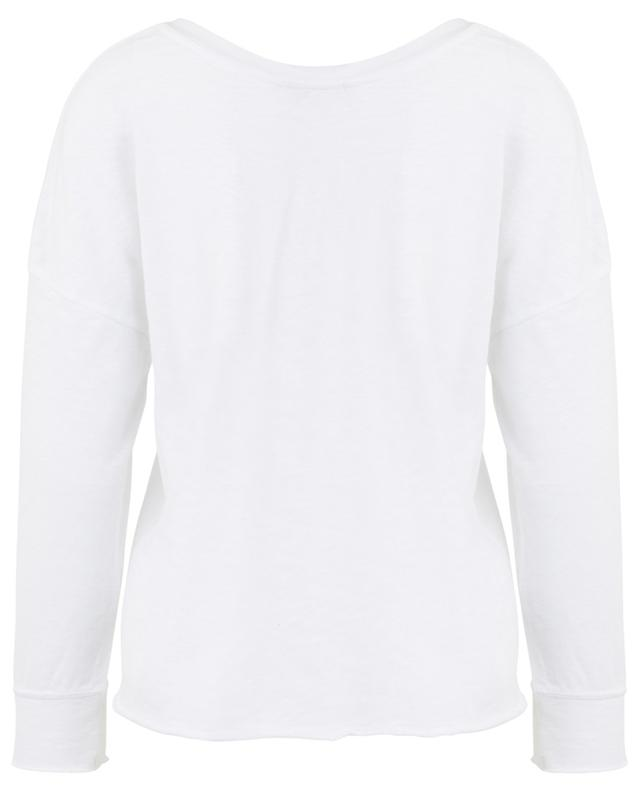 Sonoma cotton long-sleeved T-shirt AMERICAN VINTAGE