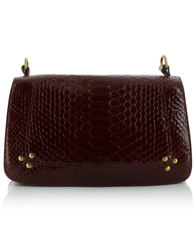 Petit sac porté épaule en cuir de python Bobi JEROME DREYFUSS