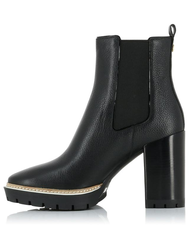 Miller 100 tumbled leather ankle boots TORY BURCH