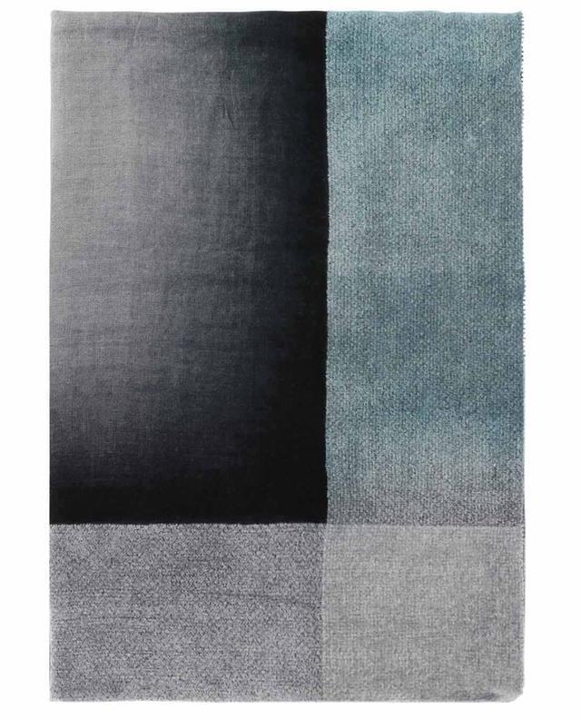 Anna square shawl with colour grading FALIERO SARTI
