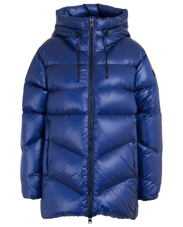 Packable Birch wide hooded down jacket WOOLRICH