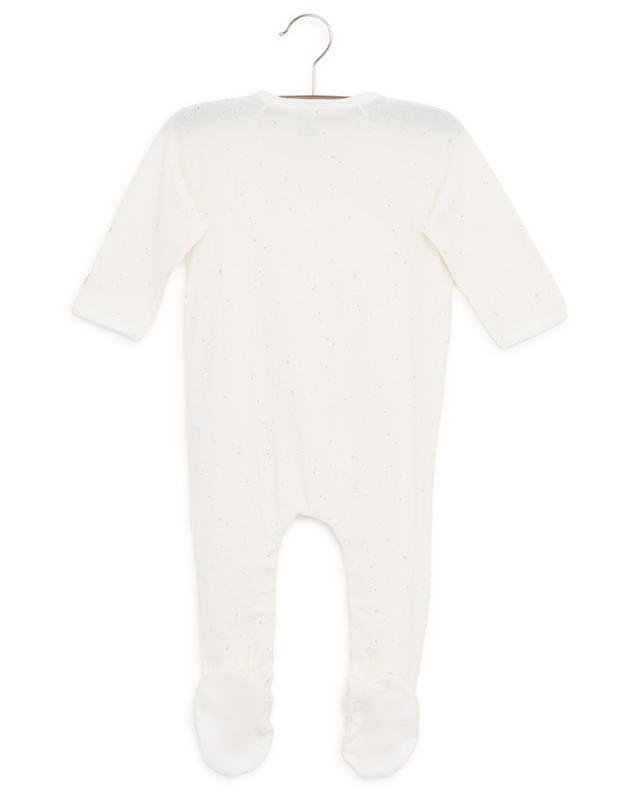 Strampelanzug aus Baumwolle mit Sternenprint PETIT BATEAU