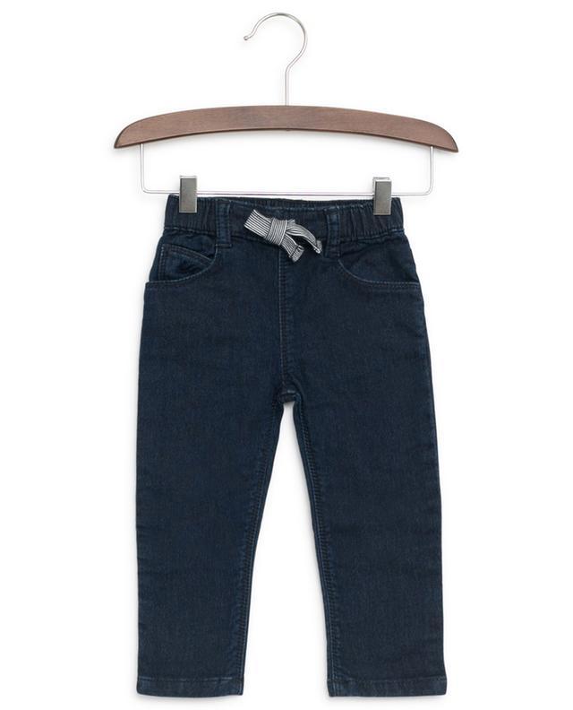 Jeans mit gestreiftem Tunnelzug PETIT BATEAU