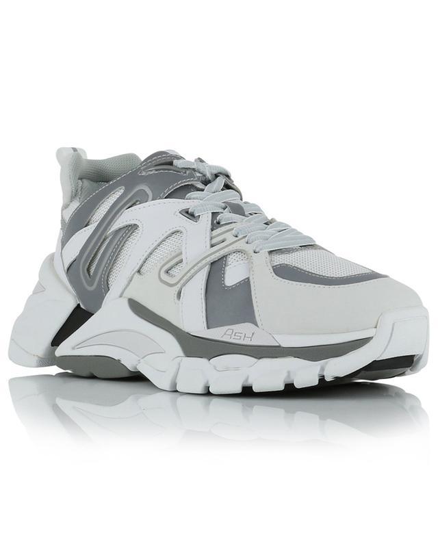 Flash low-top multi-material sneakers ASH