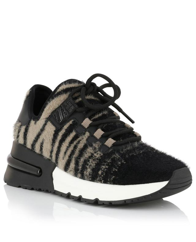 Krush lace-up sneakers with zebra pattern ASH