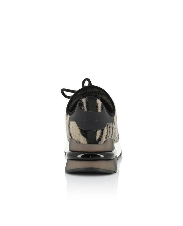 Baskets à lacets zebrées Krush ASH
